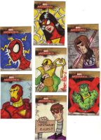 Marvel Masterpiece cards 3of3 by Gigatoast