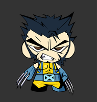 Wolverine Chibi by SanityP