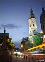 Church in Belgrade by MilosGizdovski