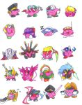 Mega Kirbies- MMX Series by Hakuramen