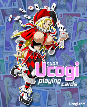 Nude Ucogi playing cards! by Veinctor