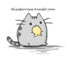 PUSHEEN THE CAT by Elizaberri
