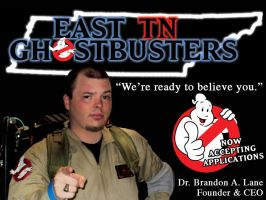 East TN Ghostbusters Advert 01 by laneamania