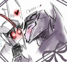 Now give us a kiss by BrokenDeathAngel