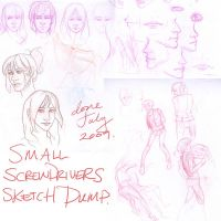 Small Screwdrivers Sketch Dump by key-0