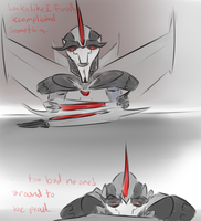 Some old Starscream vent from a few weeks back by astrequin