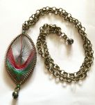 Dream Catcher necklace by Lovelyruthie
