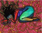 Heart of a Pomegranate by Migratory-Coconut
