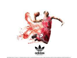 Rose Adizero Marketing Poster by pgilladdy