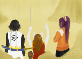 Shikai W.I.P. 4 - Main characters almost ready?! by EriciusLux
