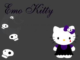 Emo kitty by elfy016