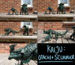Otachi and Scunner by BritishMedic