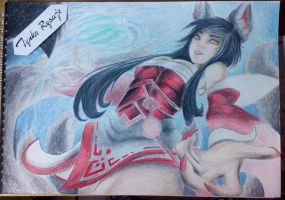 Ahri | League of Legends by TynkaRysuje
