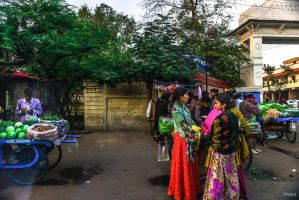 Incredible India - colors of India by Rikitza