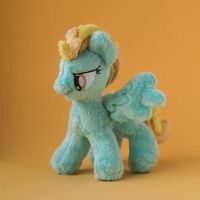 MLP Lightning Dust Plush 5 inches by Valmiiki