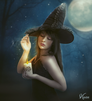 The beginning of a spell by Eithen