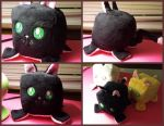 Cubacabra Black Cat Plushie by DogerCraft