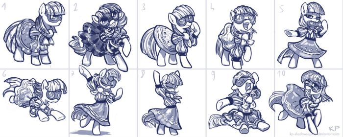 Photo Finish Sketches by KP-ShadowSquirrel