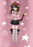 Request - Candy the cat girl by ChibiShine