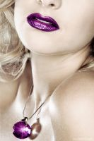 purple lips ... by MoniqueDeCaro