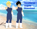 MMD Xenoverse Vegeta Download by Finnyeh