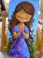 Summer Girl process photo 06 by ecofugal