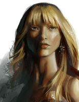 face study - 05-18-2010 by Nightblue-art