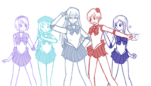 Sailor Nordics! by StalkerLithuania