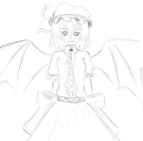 Remilia try next by Dragoncircle