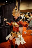 Justicar Syndra cosplay by Vahris