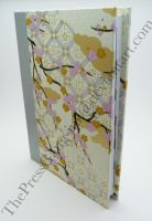 2012 Diary - silver plum japanese chiyogami paper by ThePressGang-ink
