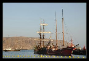 In The Marina Of Los Christianos - Tenerife by skarzynscy