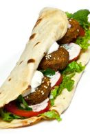 Falafel Sandwich by Nickz-Phew