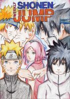Shonen Jump Contest Cover by Lesya7