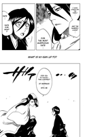 Byakuya and Rukia by elleofaquitaine