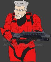 RvB Fan Sarge .:WIP:. by MidNight-Vixen