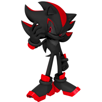 Shadow (Red Highlights Only) Render by Nibroc-Rock