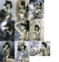 Bettie Page Pvt Collection 04 by RichardCox