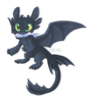 Toothless! by Smushey