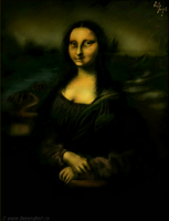 MonaLisa by oopscolor