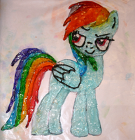 Rainbow Dash out of Hard Candy!! by SoarinPie