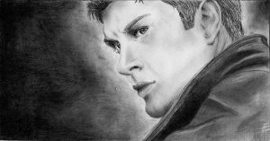 Dean Winchester 2 by an-opened-book