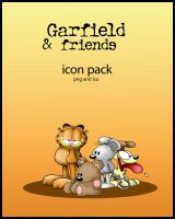 Garfield and FriendsICONS by Fatboy72