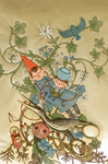 Over the Garden Wall Issue #1 Variant Cover by Barukurii