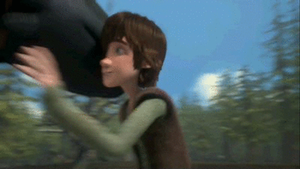 Another Hug From Toothless [GIF] by PokeLoveroftheWorld