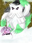 Abomasnow vs Granbull by kingofthedededes73