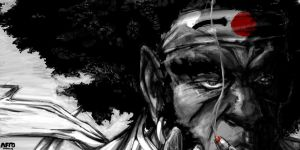 AFRO SAMURAI by CrooklynScriptures