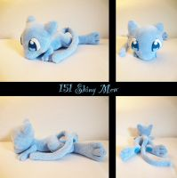 shiny Mew plush by nfasel