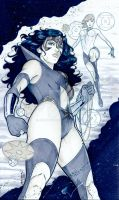 Star Sapphire Wonder Woman by martheus