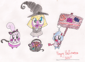 Happy Halloween 2011 by RussellMimeLover2009